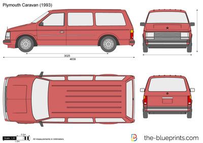 Plymouth Caravan (1993)