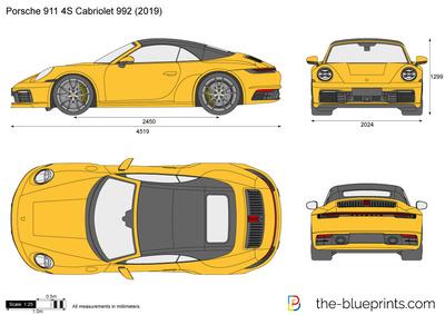 Porsche 911 S Cabriolet 992
