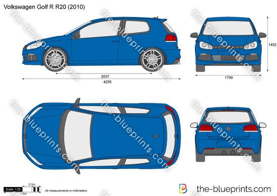 Volkswagen Golf R R20