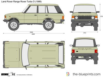 Land Rover Range Rover Turbo D (1986)