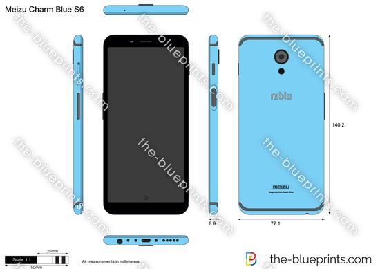 Meizu Charm Blue S6