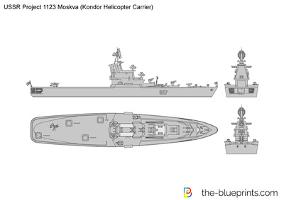 USSR Project 1123 Moskva (Kondor Helicopter Carrier)