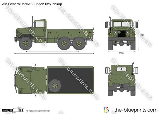 AM General M35A2-2.5-ton 6x6 Pickup