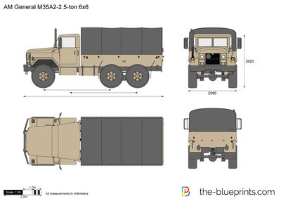 AM General M35A2-2.5-ton 6x6