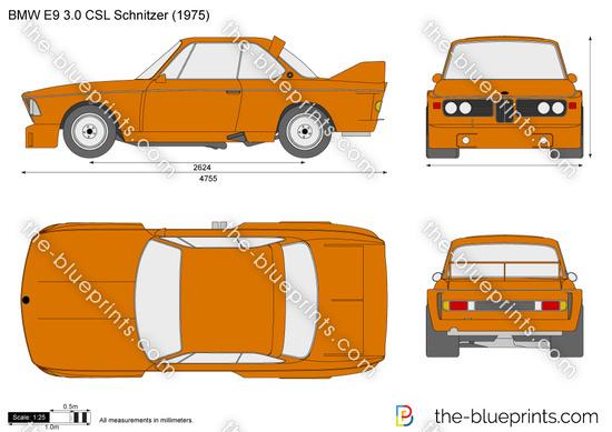 BMW E9 3.0 CSL Schnitzer