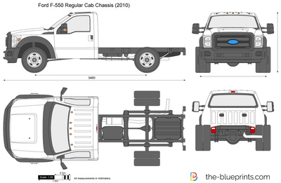 Ford F-550 Regular Cab Chassis