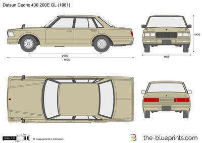 Datsun Cedric 430 200E GL