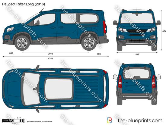 Peugeot Rifter Long