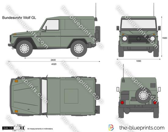 Bundeswehr Wolf GL