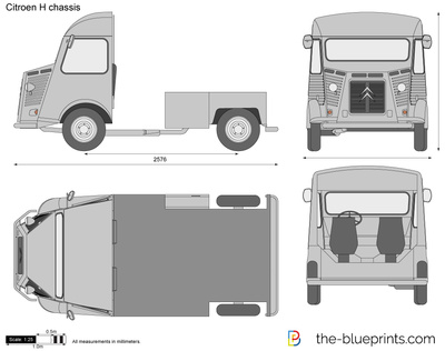 Citroen H chassis