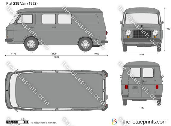 Fiat 238 Van