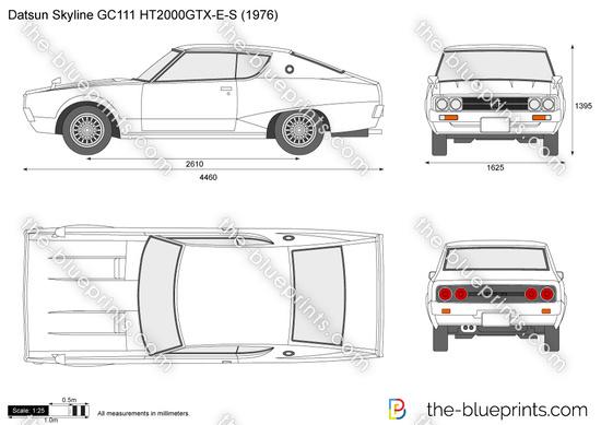 Datsun Skyline GC111 HT2000GTX-E-S