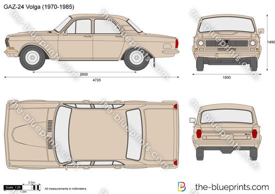 GAZ-24 Volga (1970-1985)