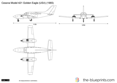 Cessna Model 421 Golden Eagle (USA)
