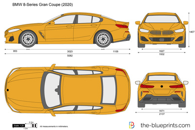 BMW 8-Series Gran Coupe G16