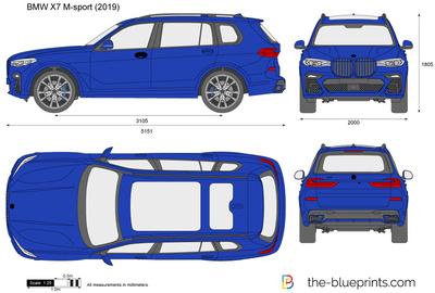 BMW X7 M-sport