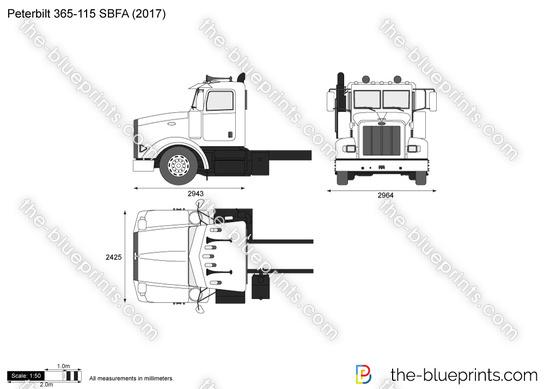 Peterbilt 365-115 SBFA