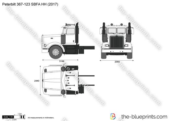 Peterbilt 367-123 SBFA HH
