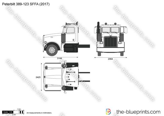 Peterbilt 389-123 SFFA