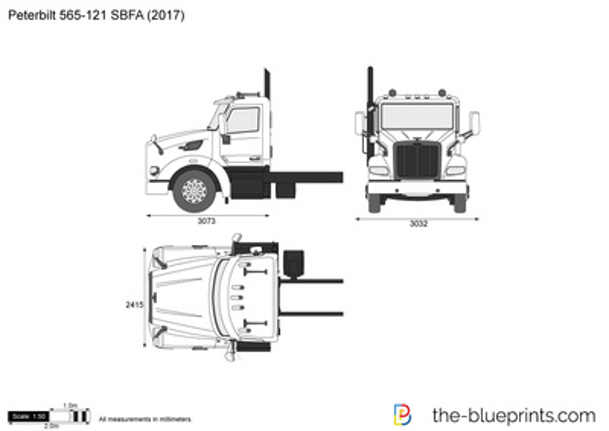 Peterbilt 565-121 SBFA