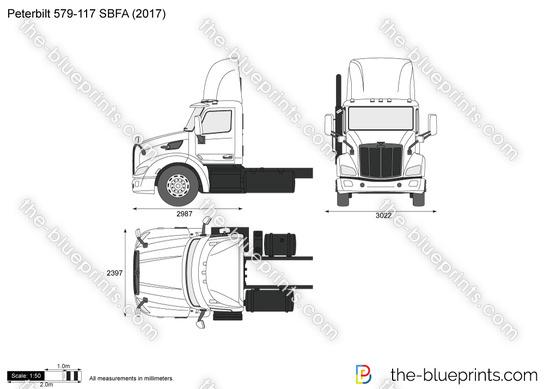 Peterbilt 579-117 SBFA