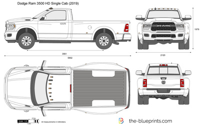 Dodge Ram 3500 HD Single Cab