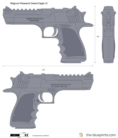 Magnum Research Desert Eagle L5