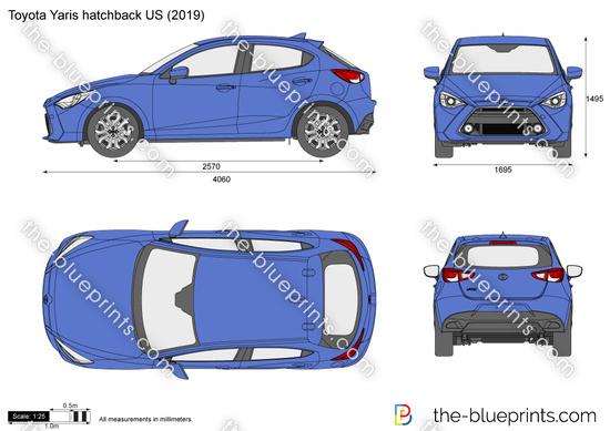 Toyota Yaris hatchback US