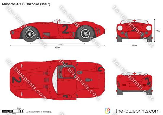 Maserati 450S Bazooka