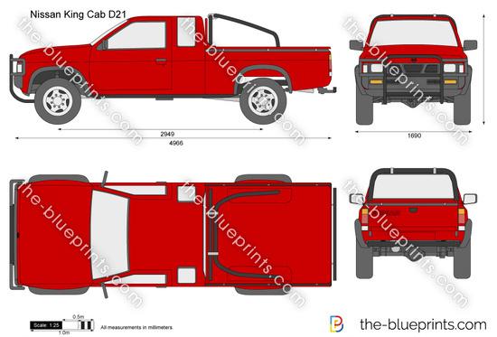 Nissan King Cab D21