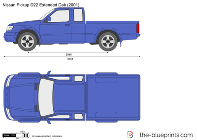 Nissan Pickup D22 Extended Cab
