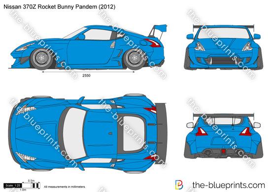 Nissan 370Z Rocket Bunny Pandem