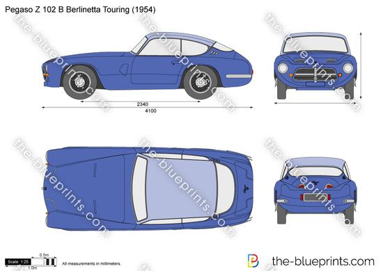 Pegaso Z 102 B Berlinetta Touring