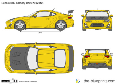 Subaru BRZ GReddy Body Kit