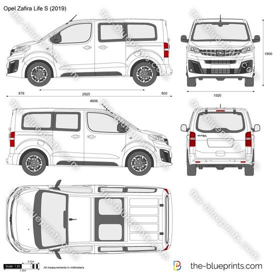 Opel Zafira Life S