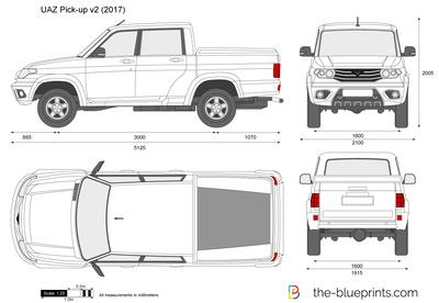 UAZ Pick-up v2
