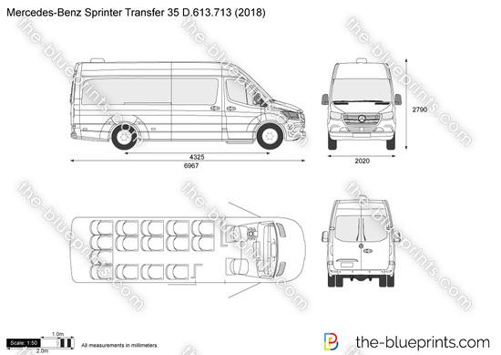 Mercedes-Benz Sprinter Transfer 35 D.613.713