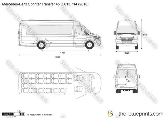 Mercedes-Benz Sprinter Transfer 45 D.613.714