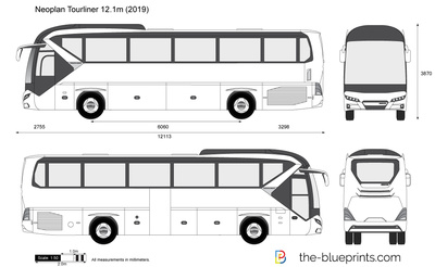 Neoplan Tourliner 12.1m