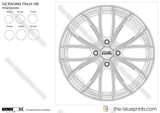 OZ RACING ITALIA 150