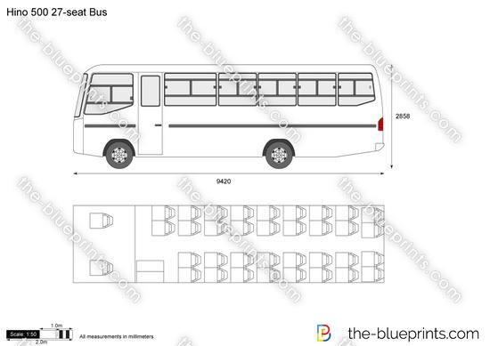 Hino 500 27-seat Bus