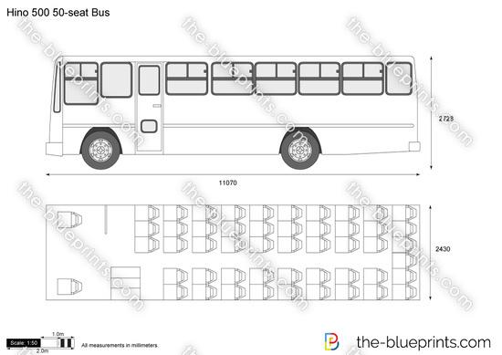 Hino 500 50-seat Bus