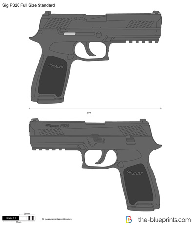 Sig P320 Full Size Standard
