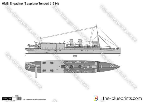 HMS Engadine (Seaplane Tender)