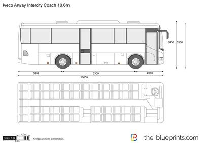 Iveco Arway Intercity Coach 10.6m