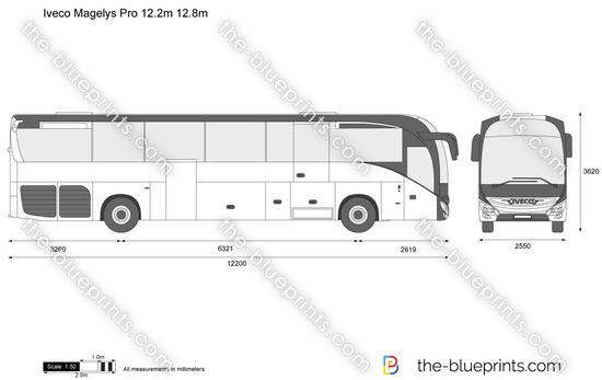 Iveco Magelys Pro 12.2m 12.8m