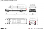 MAN TGE Minibus extra long High Roof