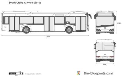 Solaris Urbino 12 hybrid (2019)