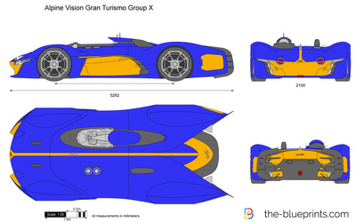 Alpine Vision Gran Turismo Group X