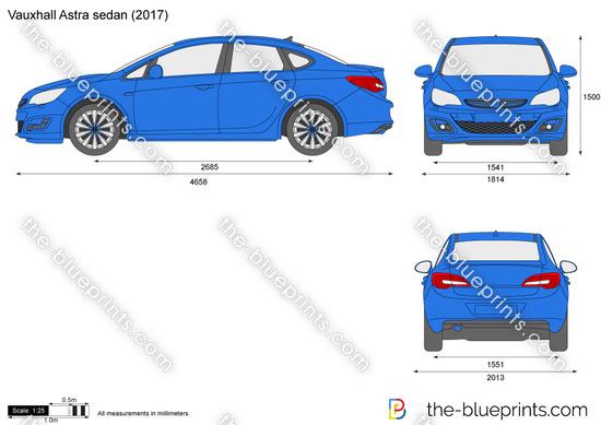 Vauxhall Astra sedan